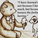 I Have Learned To Give