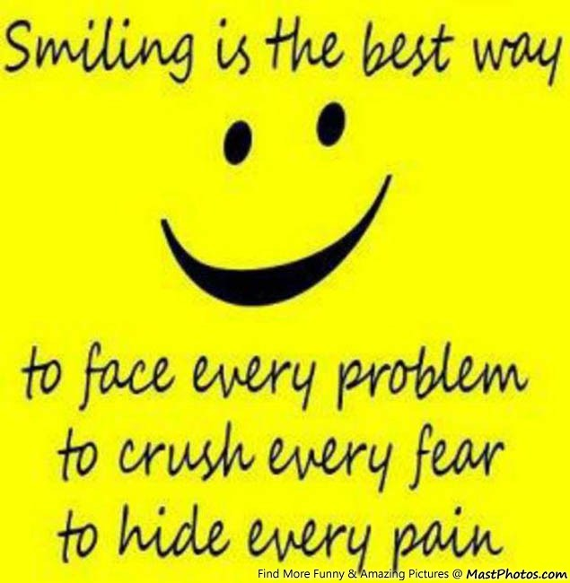 Smile Is Very Useful Thing