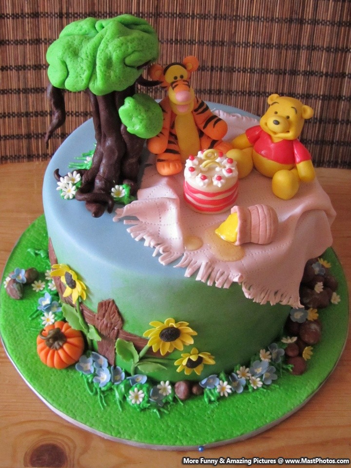 Pooh Bear Cake Design : Quotes Pooh Bear Cake. QuotesGram
