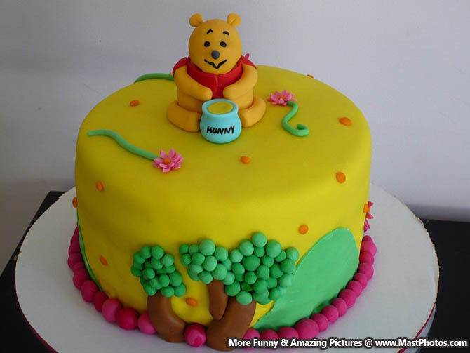Pooh Birthday Cake Design : Best Birthday Cake For Your Kid