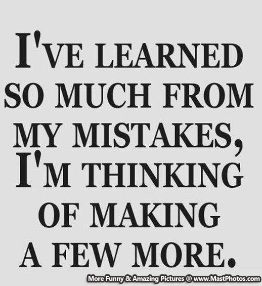 a discussion of learning from mistakes It's not just first year teachers who make mistakes, it is all teachers we all learn  through trial and error, and for some us, classroom management can really give.