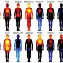 These Heatmaps Reveal Where Humans Feel Certain Emotions