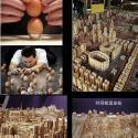 City Of Eggs Food Art By Weng Peijun