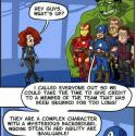 Poor Black Widow