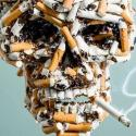 Stop Smoking Advertisement Graphic